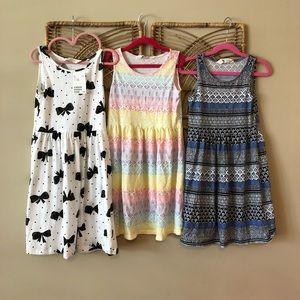 3 H&M dresses